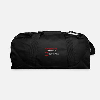 Hunger Coding If Hunger - Duffel Bag