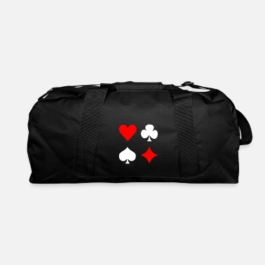 Pik Poker Cross Pik Heart Check - Duffel Bag