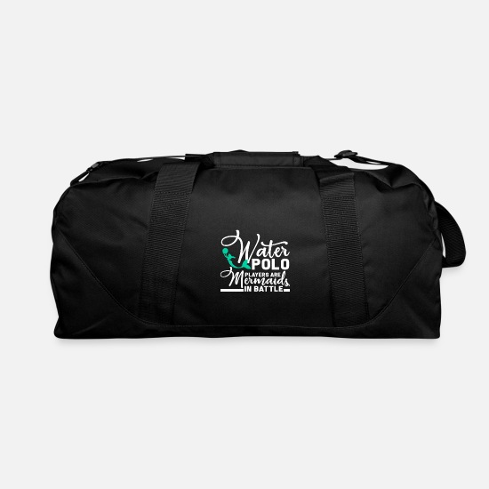Swimmer Bags & Backpacks - Water Polo Water Sports Olympics Merchandise Gift - Duffle Bag black