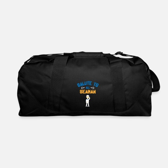Seaman Bags & Backpacks - Sailor - Salute To All Seaman - Duffle Bag black