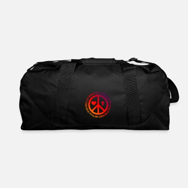 Pacific Peace Pacifism - Duffel Bag