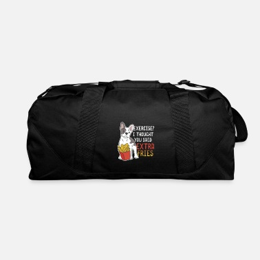 Toy French bulldog french fries pet idea dog food - Duffel Bag