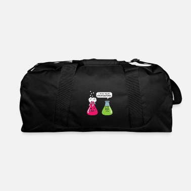 Wife Chemistry Physics Overreacting Funny Test Tube - Duffel Bag