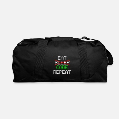 Code Code Coding Programming Computer Science - Duffel Bag