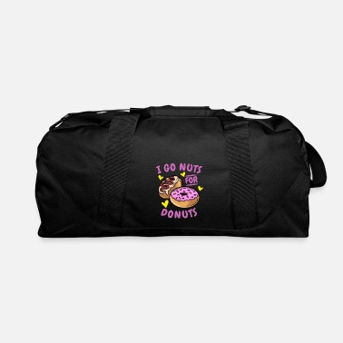 Go Nuts i go nuts for - Duffle Bag