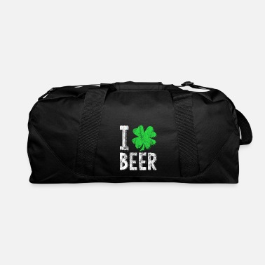 Leaf St Patrick day Beer - Duffel Bag