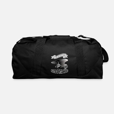 Iron Metal blacksmith smith bladesmith metal gift anvil iron - Duffle Bag
