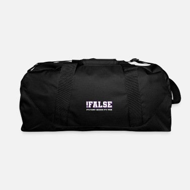 Code Programmer Developer Coder Computer Science Gift - Duffel Bag