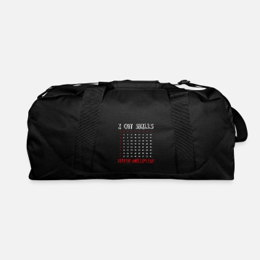 Number Math Teacher Student Mathematician - Duffel Bag