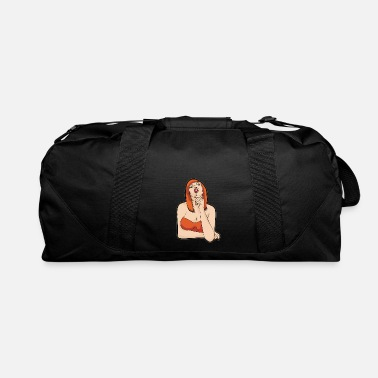 Girl BUSTY GIRL WITH LOLLIPOP Oral Sex Naughty Kinky - Duffle Bag