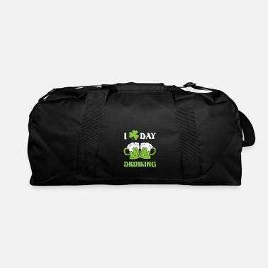 Mardi Gras I love day drinking - St. Patrick´s day design - Duffle Bag