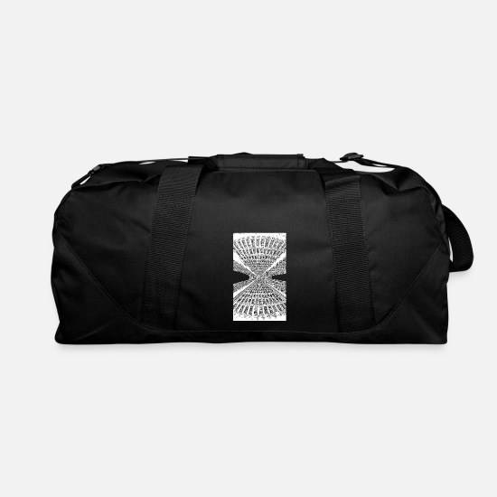 Style Of Music Bags & Backpacks - Lines - Duffle Bag black