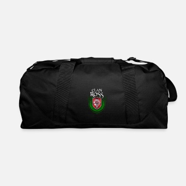 Surname Ross Surname Scottish Clan Tartan - Duffle Bag