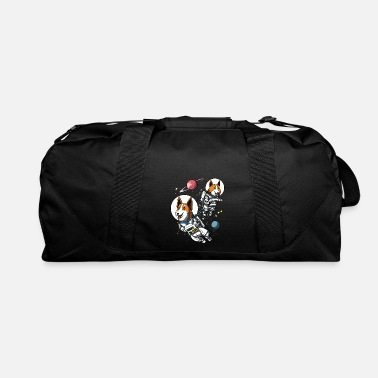 Space Corgi Dog Space Astronaut - Duffle Bag