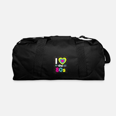 I Love The 80s 80 Party Motto Party Fun Boombox Gi - Duffle Bag