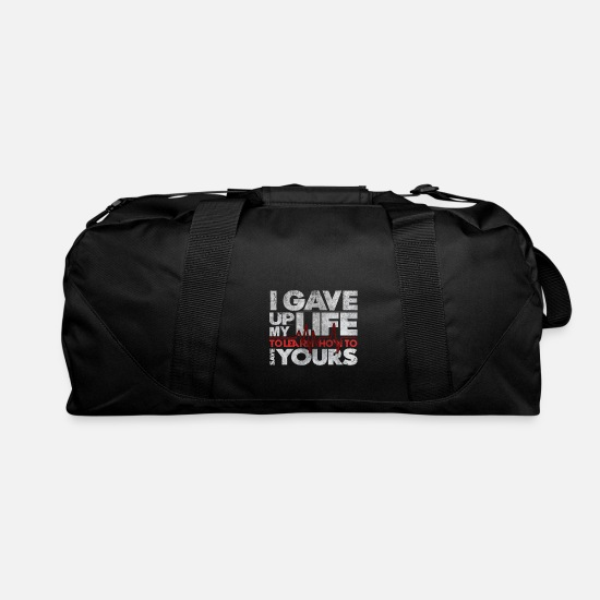 Psychology Bags & Backpacks - Medicine Quotes Cool Statement Medicine Students - Duffle Bag black