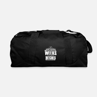 Oilfield Wife Shirt Live Thier Lives In Weeks Gift - Duffle Bag