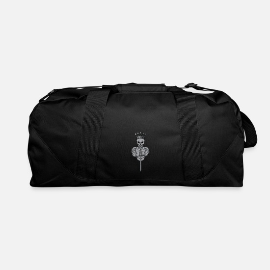 Odin Bags & Backpacks - Angel of Death reaper Norse Mythy Viking Odin gift - Duffle Bag black