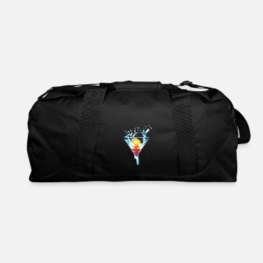 Vivid Color Contest Colorful Gift Idea Vivid Color Sea Sunset Painting - Duffle Bag