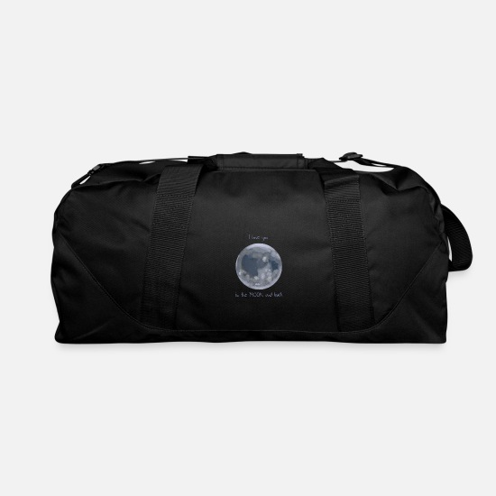 Moon Bags & Backpacks - Couples Moon Satellite - Duffle Bag black