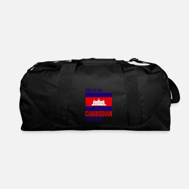 Cambodia This is my Cambodian Costume Halloween T-Shirt - Duffle Bag