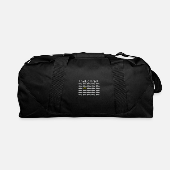 Motor Bags & Backpacks - Think differently - Bike Car Bike - Duffle Bag black