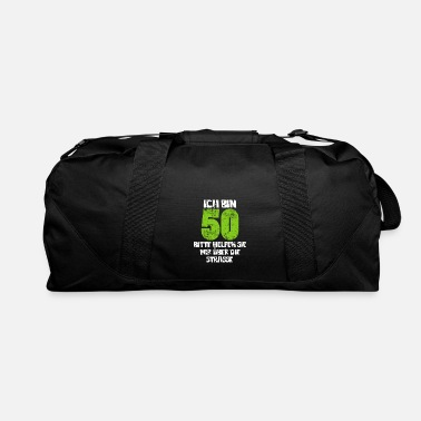 Round Birthday 50th Birthday Round Birthday - Duffle Bag