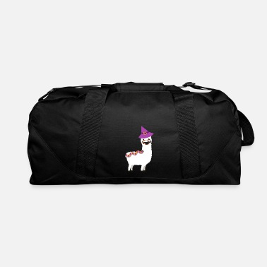 Trend Animal HALLOWEEN SCARY ALPACA - Duffle Bag