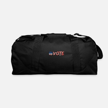 Poll Vote US Election American Polls - Duffle Bag