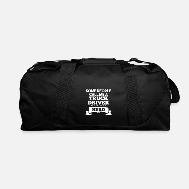 Transport Truck transport logistics driver highway - Duffle Bag