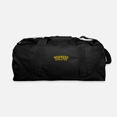 Wasted Nowhere athletics not a fan of athletics funny - Duffle Bag