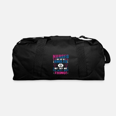 Nurses may not be angels - Duffle Bag