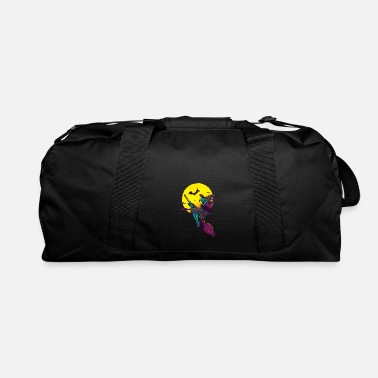 Wicked Witch Halloween Wicked Witch On Broomstick - Duffle Bag
