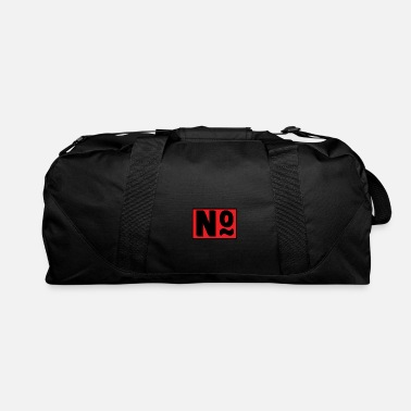 Number No ... number 0 / O, vowel or number - Duffel Bag