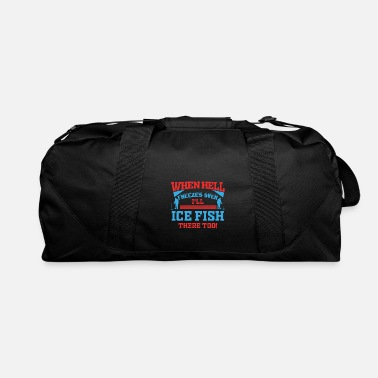Norway Ice Fishing Fish North Fishing Gift - Duffel Bag