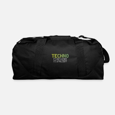 Philosophy Techno is a philosophy - Duffel Bag