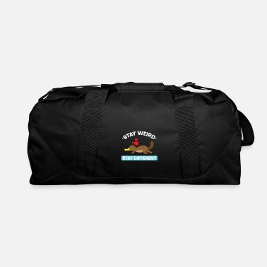 Beak Platypus Stay weird, stay different - Duffle Bag