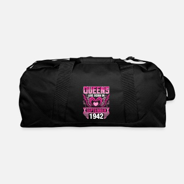 Born In September Queens Are Born In September 1942 - Duffle Bag