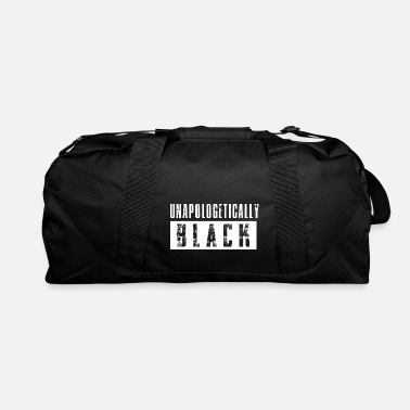 Unapologetically Black White - Duffle Bag