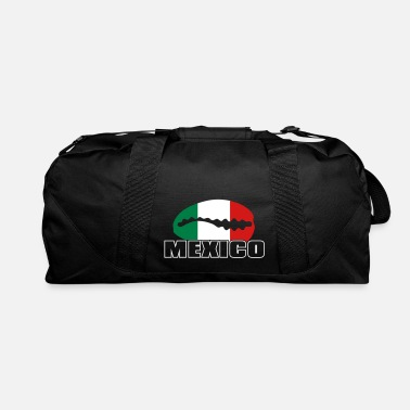 Bandera Mexican flag in cowrie - Duffle Bag