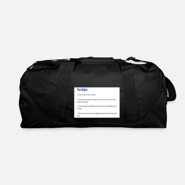 Definition PARADIGM (DEFINITION) - Duffle Bag