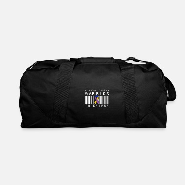 Quote Bladder Cancer Survivor Price Warrior Fight - Duffle Bag