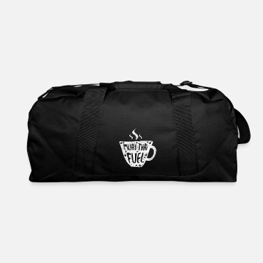 Designer Muay Thai Coffee NakMuay Boxing Workout print - Duffle Bag