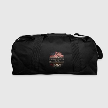 Palestinian american grown with palestinian roots - Duffel Bag