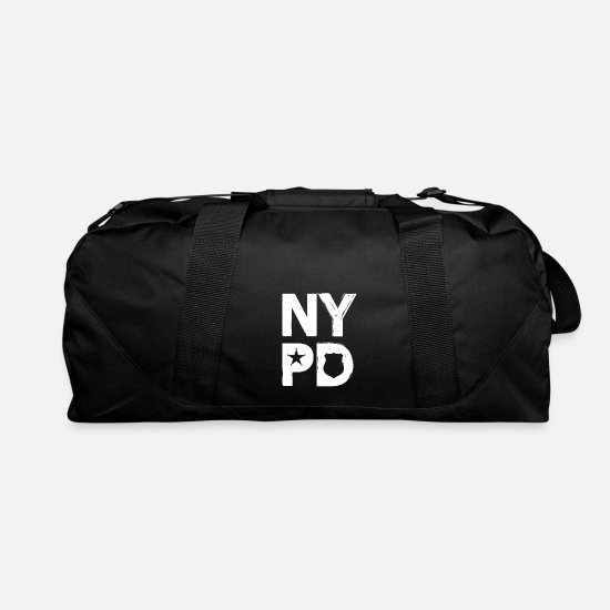 Nypd Bags & Backpacks - NYPD - police art word gift idea - Duffle Bag black
