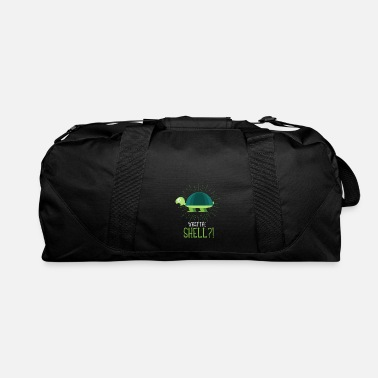 Turtle Doves Funny Turtle Ocean Shell Environment Reptile - Duffle Bag