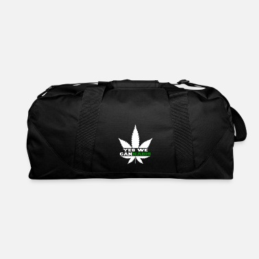 Grass Yes we Cannabis - Duffel Bag