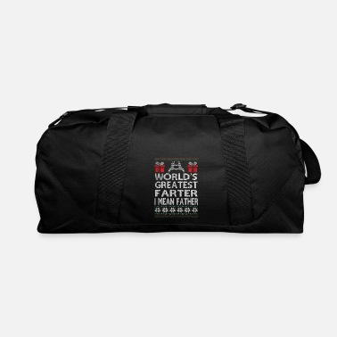 Match World's Greatest Farter I Mean Father - Duffel Bag