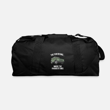 Rally Rain Mud Fun Motor racing Present - Duffle Bag