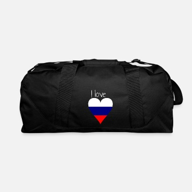 My Favorite Country I love Russia, Gift idea, Russian Flag - Duffle Bag